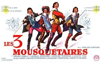 Les trois mousquetaires 1961 for Les mousquetaires du meuble