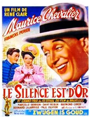 Le silence est d or movie