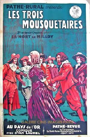 Les Trois Mousquetaires (Diamant-Berger, 1921)