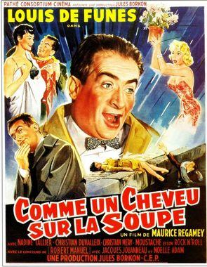 Comme un cheveu sur la soupe (1957)